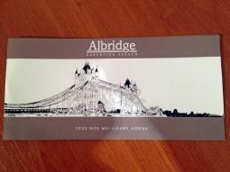 Carte de voeux Albridge 2014